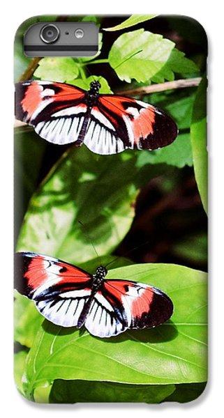 Butterflies IPhone 7 Plus Case by Sandy Taylor