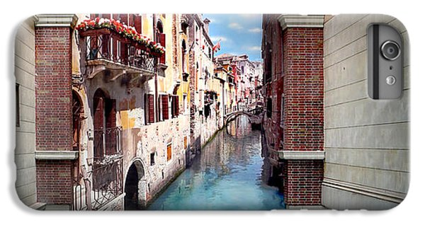 Featured Images iPhone 7 Plus Case - Dreaming Of Venice Panorama by Az Jackson