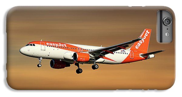 Jet iPhone 7 Plus Case - Easyjet Airbus A320-214 by Smart Aviation