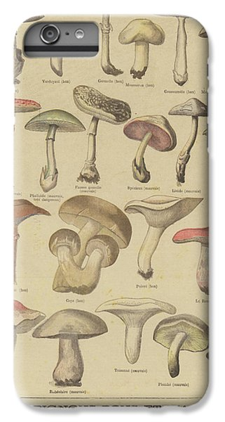 Edible And Poisonous Mushrooms IPhone 7 Plus Case by French School