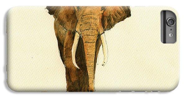 Elephant Watercolor IPhone 7 Plus Case by Juan  Bosco