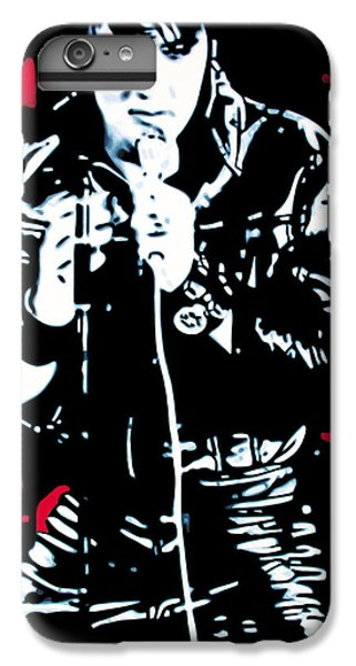 Elvis IPhone 7 Plus Case by Luis Ludzska