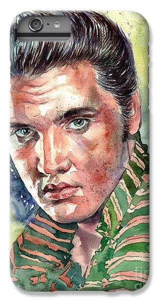 Elvis Presley iPhone 7 Plus Case - Elvis Presley Portrait by Suzann's Art