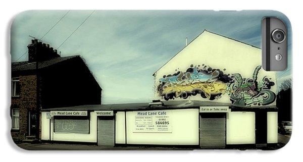 Aerosol iPhone 7 Plus Case - Graffiti Cafe by Nigel Bangert