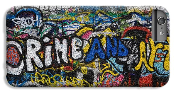 U2 iPhone 7 Plus Case - Grafitti On The U2 Wall, Windmill Lane by Panoramic Images