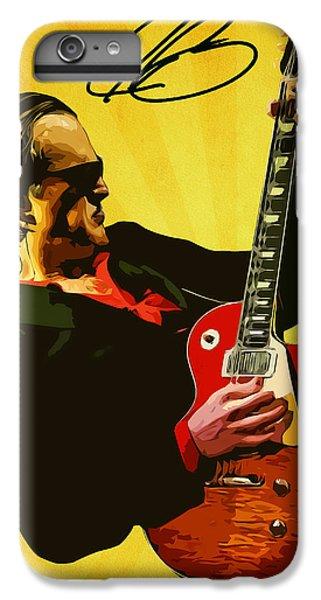 Eric Clapton iPhone 7 Plus Case - Joe Bonamassa by Semih Yurdabak