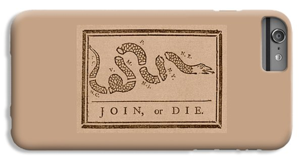 Snake iPhone 7 Plus Case - Join Or Die by War Is Hell Store