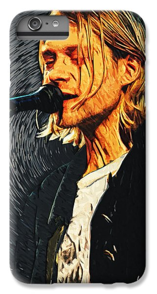 Kurt Cobain IPhone 7 Plus Case by Taylan Apukovska