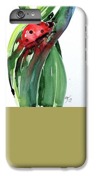 Ladybug iPhone 7 Plus Case - Ladybird by Kovacs Anna Brigitta