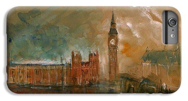 London Watercolor Painting IPhone 7 Plus Case