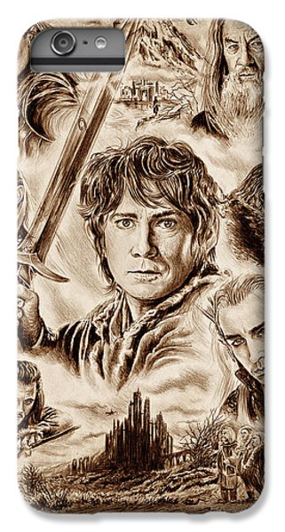 Orlando Bloom iPhone 7 Plus Case - Middle Earth by Andrew Read