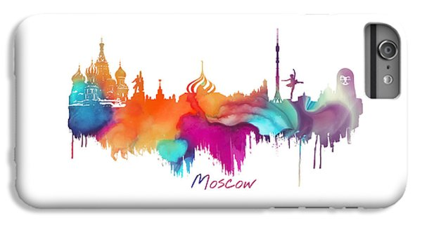 Moscow  IPhone 7 Plus Case by Justyna JBJart