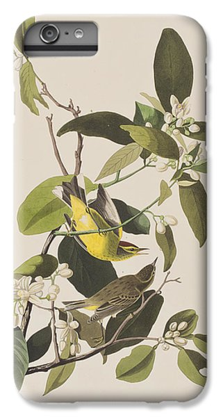 Palm Warbler IPhone 7 Plus Case by John James Audubon