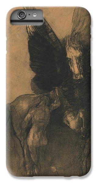 Pegasus And Bellerophon IPhone 7 Plus Case by Odilon Redon