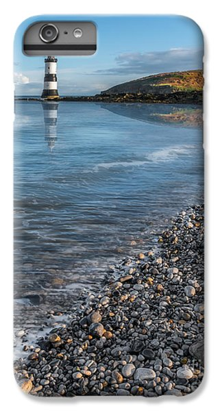 Puffin iPhone 7 Plus Case - Penmon Point Lighthouse by Adrian Evans