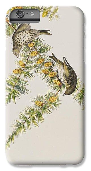Pine Finch IPhone 7 Plus Case by John James Audubon