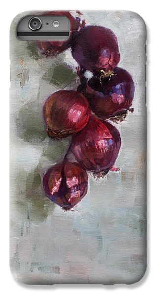 Onion iPhone 7 Plus Case - Red Onions by Ylli Haruni