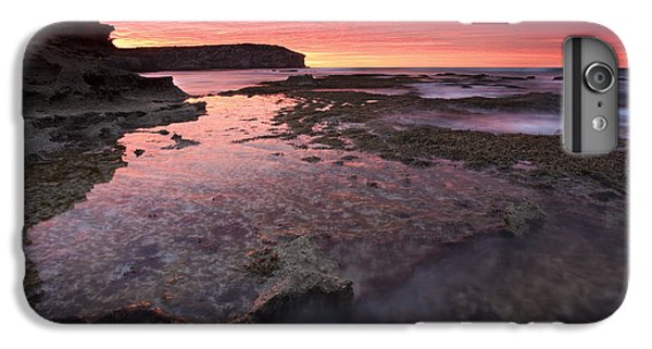 Kangaroo iPhone 7 Plus Case - Red Sky At Morning by Mike  Dawson