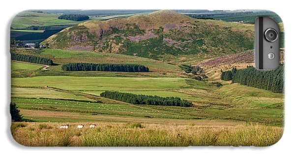 Scotland View From The English Borders IPhone 7 Plus Case by Jeremy Lavender Photography