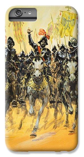 Spanish Conquistadors IPhone 7 Plus Case by Graham Coton