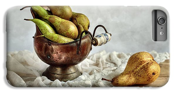 Still-life With Pears IPhone 7 Plus Case by Nailia Schwarz