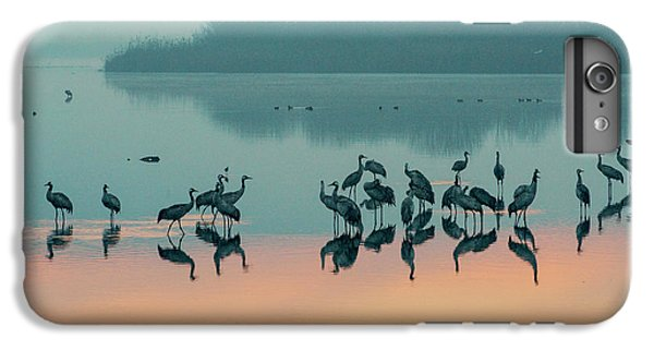 Sunrise Over The Hula Valley IPhone 7 Plus Case by Dubi Roman