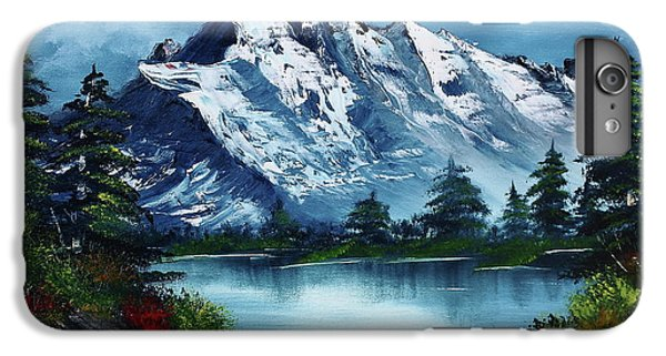 Mountain iPhone 7 Plus Case - Take A Breath by Barbara Teller