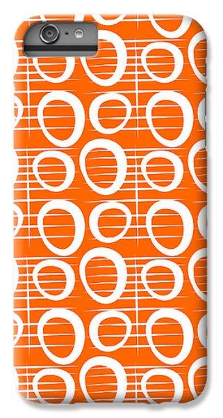 Tangerine Loop IPhone 7 Plus Case by Linda Woods