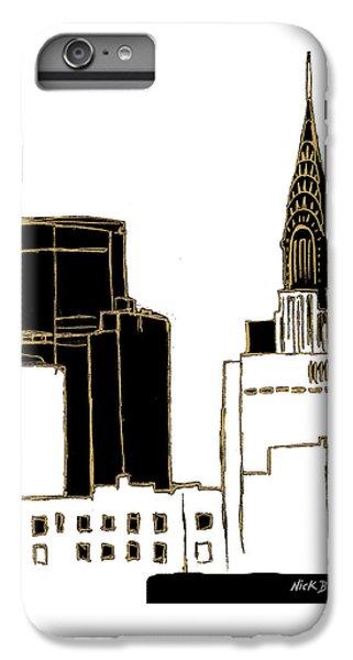 Tenement Empire State Building IPhone 7 Plus Case by Nicholas Biscardi