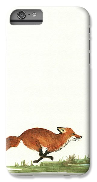 The Fox And The Pelicans IPhone 7 Plus Case by Juan Bosco