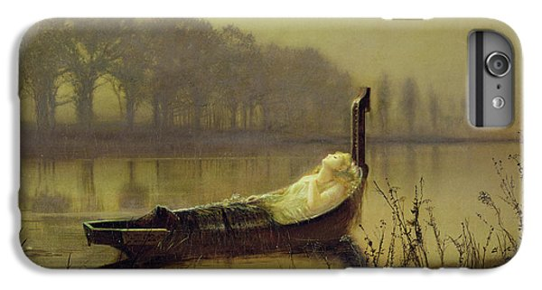 Boats iPhone 7 Plus Case - The Lady Of Shalott by John Atkinson Grimshaw