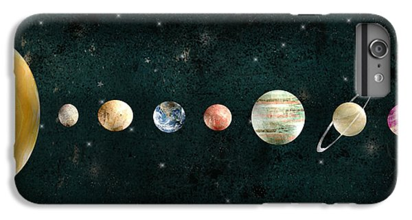 The Moon iPhone 7 Plus Case - The Solar System by Bri Buckley