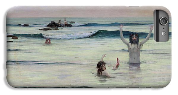 Newts iPhone 7 Plus Case - Tritons by Rupert Bunny