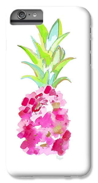 Tropical Pink And Gold IPhone 7 Plus Case