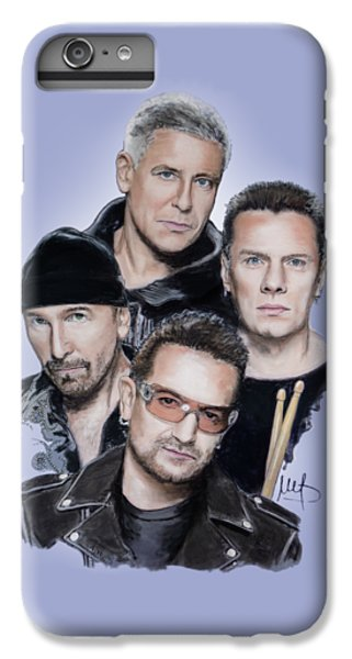 U2 iPhone 7 Plus Case - U2 by Melanie D