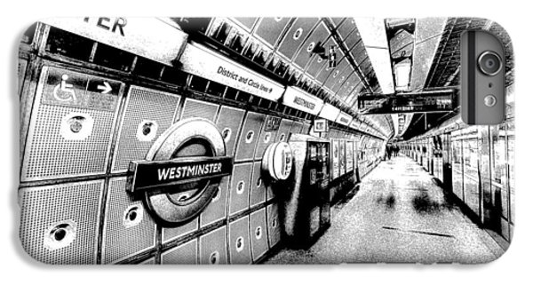 Underground London Art IPhone 7 Plus Case by David Pyatt