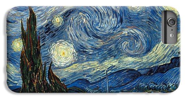 Moon iPhone 7 Plus Case - Van Gogh Starry Night by Granger