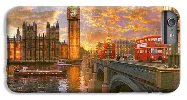 Pigeon iPhone 7 Plus Case - Westminster Sunset by Dominic Davison