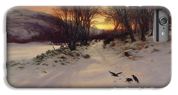 When The West With Evening Glows IPhone 7 Plus Case by Joseph Farquharson
