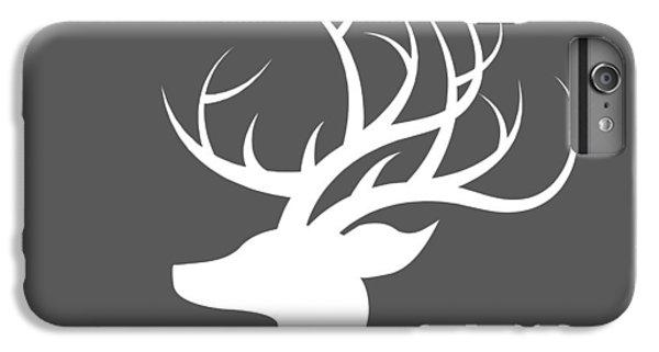 White Deer Silhouette IPhone 7 Plus Case