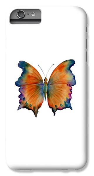 Orange iPhone 7 Plus Case - 1 Wizard Butterfly by Amy Kirkpatrick