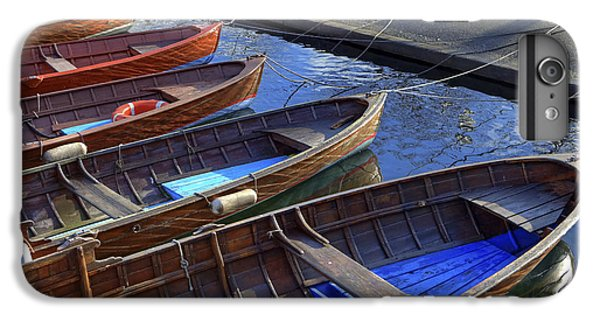 Boats iPhone 7 Plus Case - Wooden Boats by Joana Kruse