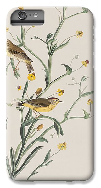 Yellow Red-poll Warbler IPhone 7 Plus Case by John James Audubon