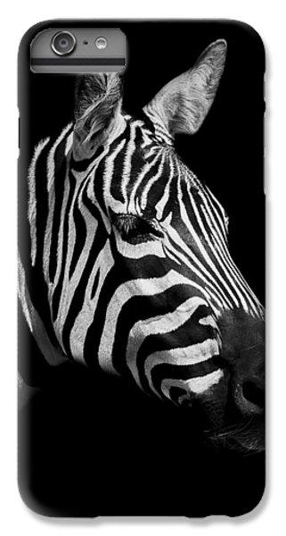Zebra IPhone 7 Plus Case by Paul Neville