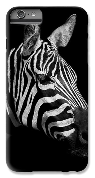 Zebra IPhone 7 Plus Case by Paul Neville