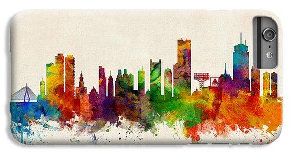 Boston Massachusetts Skyline IPhone 7 Plus Case by Michael Tompsett