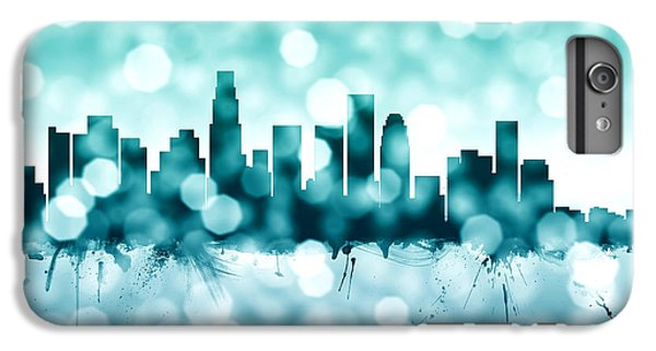 Los Angeles California Skyline IPhone 7 Plus Case by Michael Tompsett