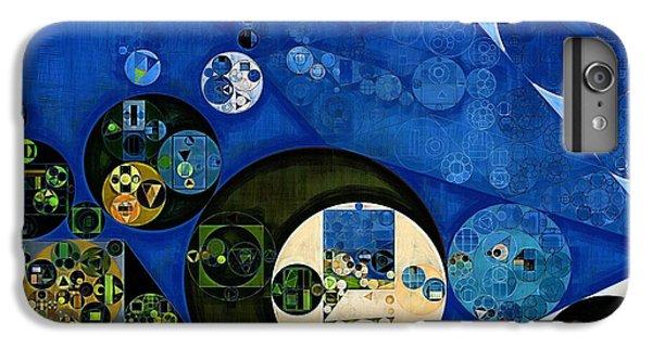 Kangaroo iPhone 7 Plus Case - Abstract Painting - Dark Jungle Green by Vitaliy Gladkiy