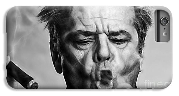 Jack Nicholson iPhone 7 Plus Case - Jack Nicholson Collection by Marvin Blaine