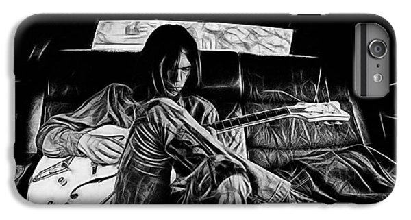 Neil Young Collection IPhone 7 Plus Case by Marvin Blaine